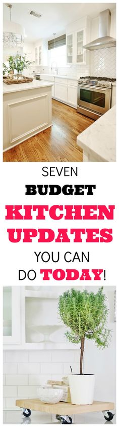 Kitchen On A Budget, Diy Kitchen, Kitchen Dining, Kitchen Decor, Kitchen Hacks, Kitchen Ideas, Beautiful Kitchens, Cool Kitchens, Cheap Home Decor