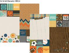 So Rad 12x12 Paper - 2x2 & 6x8 Elements