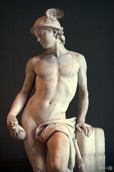 Mercury, Augustin Pajou, 1780 Musée du Louvre, Paris