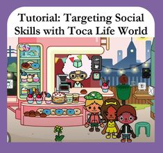This video is for Speech-Language Pathologists who are looking for a play-based app to target emotion identification, social inferencing, and social problem-solving. In it I explain how I use Toca Life World from @tocaboca to target these skills and create my own social scenes for both telehealth and in-person appointments. #SLP #SocialSkills #TocaLife
