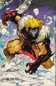 Astonishing X — Sabretooth by Jim Lee