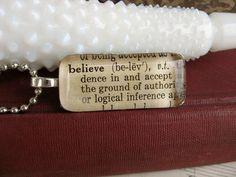 dictionary jewelry