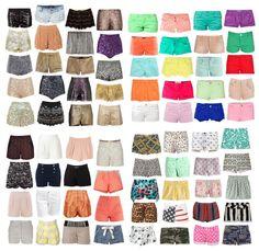 A nyári ruhatár alapdarabja: a sort! #fashionfave #shorts #summer #tips