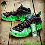 "Custom ""ParaNorman"" Foamposite One aka ""ParaNormalikes"" by GourmetKickz"