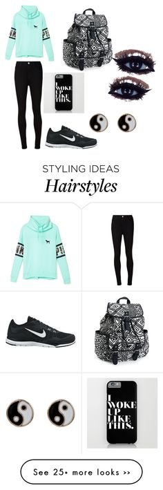 """Cute comfy messy hair kind of outfit"" by jillianucb on Polyvore"