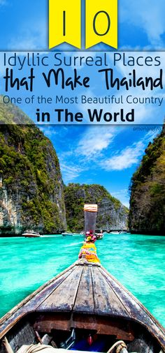 10 Idyllic Surreal Places that Make Thailand One of the Most Beautiful Country in The World #Thailand