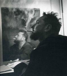 Pierre Brasseur par Robert Doisneau, 1951.