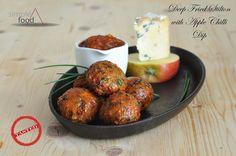 Deep Fried Stilton with Apple Chilli Dip Recipe