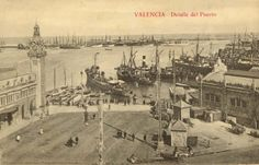 Detalle del Puerto, 1925