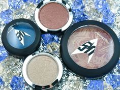 The Happy Sloths: MAC Star Trek Collection | Pressed Pigment Eyeshadow & Trip the Light Fantastic Powder: Review and Swatches