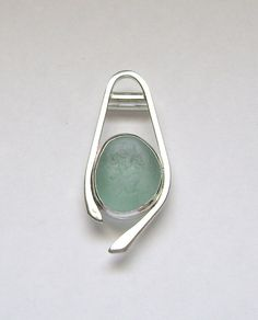 Sea Glass Jewelry Sterling Aqua Sea Glass by SignetureLine, $80.00