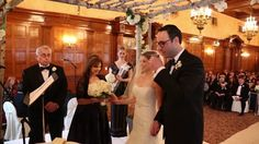 Real Wedding by Divine Weddings & Events.  Rachel and Sasha - classic Jewish wedding at The Fort Garry Hotel in Winnipeg.  Video by film. edit crew.
