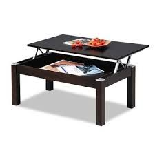 coffee table convert to dining table, or two smaller versions of this on wheels, could be ottoman to tray table as well, of course with storage inside
