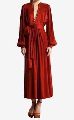 Gucci Orange Dress