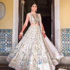 Stunning Anita Dongre Lehengas Spotted On Real Brides