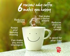 #Coffee #Energy #HealthFacts
