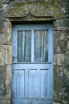 Pretty blue door