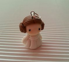     clay sculpture doll miniature figurine figure Princess Leia Organa Star Wars