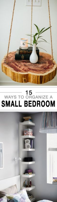 Super efficient ways to organize your small bedroom 17