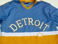 Detroit-Stars-Negro-League-Jersey-Replica-Shirt-Men-039-s-XL