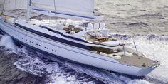 Hoy nos despertamos con el velero privado más grande!!!