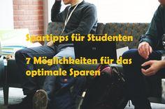 Spartipps für Studenten - Kann es denn so einfach sein? Ja! Du lebst als Student von Leistungen, wie Bafög oder einem monatlichen Studentenkredit. #geld #sparen
