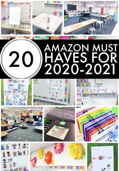 20 Amazon Classroom Must Haves for the 2020-20212 school year. Future Classroom, Classroom Decor, Classroom Projects, Classroom Resources, Beginning Of School, Back To School, Middle School, School Stuff, High School
