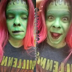 #hermanmunster #themunsters #makeupart #makeup #cosplay