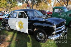 1949 Ford Police Car 5d26224 by Wingsdomain Art and Photography - 1949 Ford Police Car 5d26224 Photograph - 1949 Ford Police Car 5d26224 Fine Art Prints and Posters for Sale