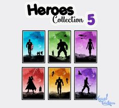 Heroes Collection 2 at Victor Miguel • Sims 4 Updates