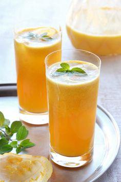 Suco de maracujá com menta – Tempero Alternativo