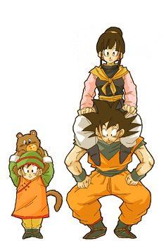 Goku's family #DBZ