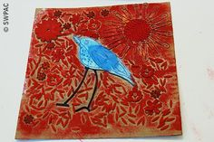 collagraph plate by Lorraine