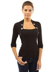 BCBGMAXAZRIA Womens Liana Knit V Neck T Shirt