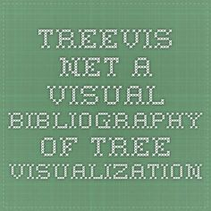 treevis.net - A Visual Bibliography of Tree Visualization