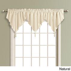 Co United Curtain Monte Carlo Scalloped Window Valance - 59\'\' x 18 ...