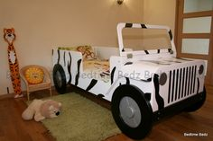 Jeep Bed #coolsafaribed #safaribed #jeepbed #coolboysbed #boysbed