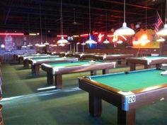 pool hall - Google Search