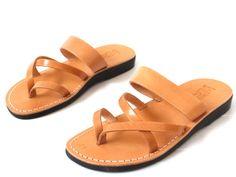 Leather Women's Sandals APHRODITE NEW ARRIVAL by Sandalimshop
