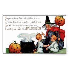 Vintage Halloween Stickers - Trick or Treat Halloween Gift Bags, Halloween Wishes, Halloween Celebration, Halloween Stickers, Halloween Birthday, Family Halloween, Happy Halloween, Retro Halloween, Halloween Ideas