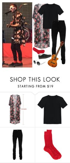 """Tyler Joseph Lane Boy"" by thirty-one-flight-attendants ❤ liked on Polyvore featuring AMIRI, N°21, Vans, men's fashion and menswear"