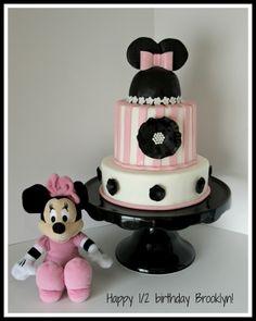 1/2 birthday cake By luckyblueeye on CakeCentral.com