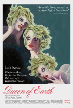 From director and writer Alex Ross Perry, 'Queen of the Earth', stars Elisabeth Moss and Katherine Waterston in a horror psychological comedy film which… Elisabeth Moss, 2015 Movies, Hd Movies, Movies Online, Movies Free, Mad Men, Spider Man Alex Ross, Justice League, Alex Ross Kingdom Come