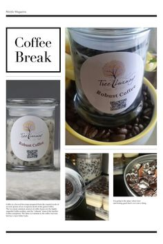 Robust Coffee:  #soycandles #candles #coffeeandcream  Purchase here:  Treeluxurycandles.com