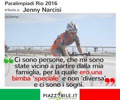 jenny narcisi paralimpiadi Rio 2016 CICLISMO  piazzabile.it