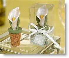 Elegant Calla Lily Bottle Stopper in Planter Gift Box Wedding Favour Calla Lily Wedding, Wedding Flowers, Wedding Symbols, Magnolia Wedding, Spring Wedding Inspiration, Vintage Wedding Theme, Wedding Tips, Dream Wedding, Wedding Stuff