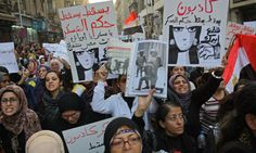 10,000 Egyptian women march against military violence and rule - Politics - Egypt - Ahram Online