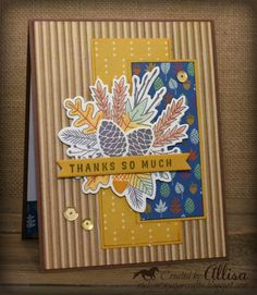Created with the Hawthorn Cardmaking Workshop by Close To My Heart available September 2019 inkstamps Pop Design, Design Lab, Sketch Design, Design Concepts, Graphic Design, Fall Cards, Holiday Cards, Heart Sketch, Cute Banners