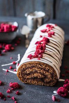 Finnish Recipes, Baked Rolls, Crepe Cake, Yule Log, Specialty Cakes, Breakfast Cake, Dessert Recipes, Desserts, Holiday Treats