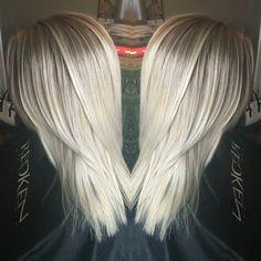 ash blonde white ombre sista pinterest ash white